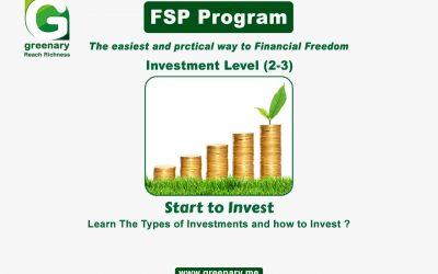 FSP Program- Investment level